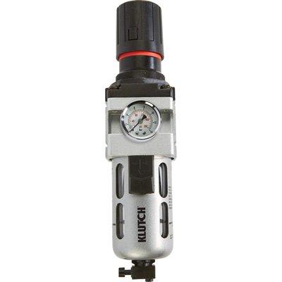 Klutch Air Filter-Regulator Combo - 1/2in. NPT, 106 CFM by Klutch
