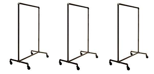 Econoco Pipeline Non-Adjustable Ballet Rack (3-Rack) by Econoco