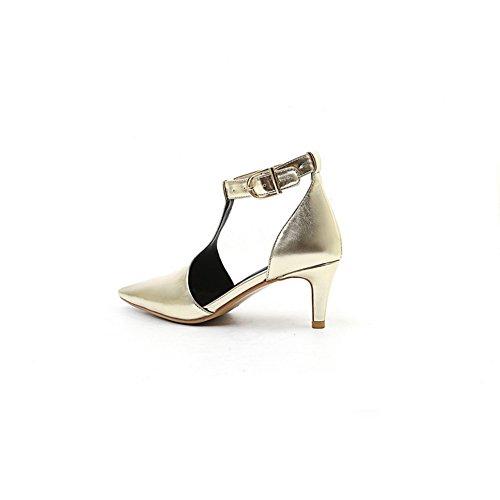 Sandales 36 Compensées BalaMasa EU doré 5 BalaMasa Femme Sandales Swnwq4xf