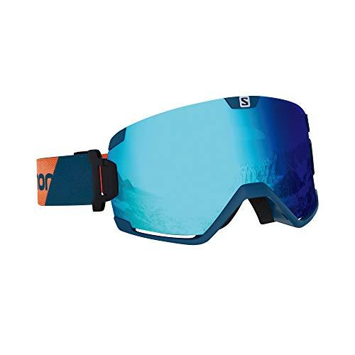 Salomon Cosmic Ski Goggles, Moroccan/Universal Mid Blue