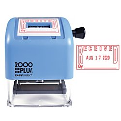 CONSOLIDATED STAMP Cosco 011091/2 2000 Plus Easy Select Dater (Consolidated Stamp Plastic Stamp)