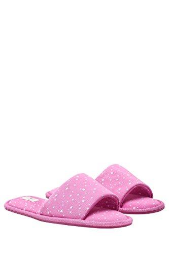 next Mujer Pantuflas Abiertas Cómodas Corte Regular Chanclas Rosa