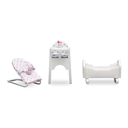 Lundby Smaland Dollhouse Baby Furniture Set