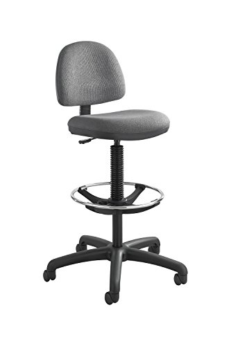 Precision Extended-Height Chair with Footring Dark Gary Electronics, Accessories, Computer