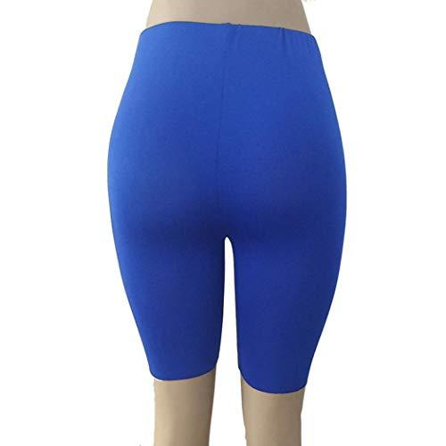 Blu Ciclismo Palestra Pantaloni Leggings Dragon868 Donna Colorati Pantaloni Donna xZPTZwq8g