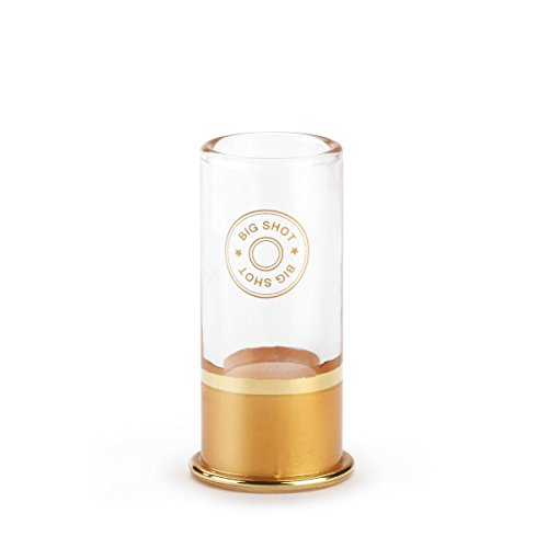 Big Shot 12 Gauge Shotgun Shell Shot Glass (Pack of 4)]()
