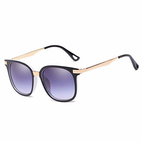F de Gafas Sol Intellectuality H Ojos Retro polarizadas Hombre Mujer de nbsp;Gafas de Personalidad Sol 5RRTrO
