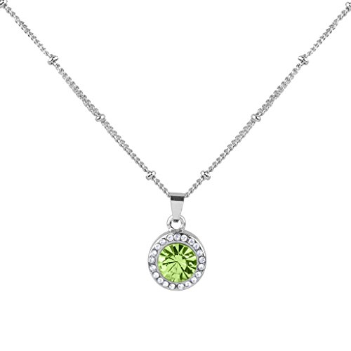 August Kids Charm - Lux Accessories Synthetic Peridot August