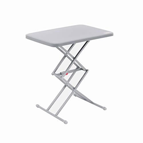 YL Portable Folding Table Home Adjustable Height Study Table Outdoor Camping Camping Self-Driving Picnic Table (Folding High Table Press)
