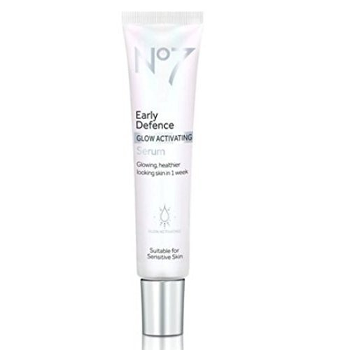 No7 Early Defence GLOW ACTIVATING Serum 30ml Boots