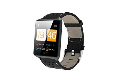 Gelrova Fitnessarmband, horloge met bloeddrukmeting, hartslagmeter, IP68 waterdicht, 1,3 inch HD smartwatch…