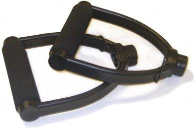 STOTT PILATES Flex-Band Handles (Black), Pair by STOTT PILATES