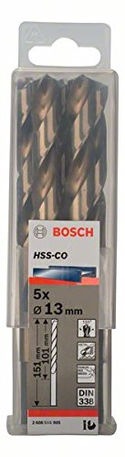 Bosch 2608585903 Metal Drill bits HSS-Co, DIN 338, Gold, 12 mm