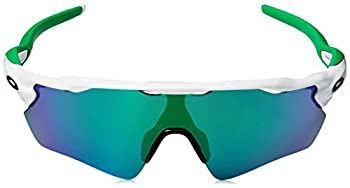 Oakley Men's Radar Ev Path Non-polarized Iridium Rectangular Sunglasses, Polished White Wjade Iridium, 138 Mm 1