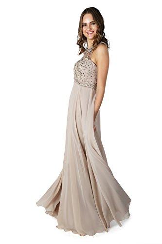 Beige beige Schal 1022820 Spirit Stil Charisse Dynasty ohne Kleid lange Damen qf7qABR
