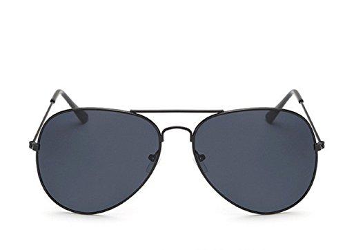 Unisex Negro Hombre de Clásico Aviador Mujer Gota Gafas sol Espejo zSHwqWI