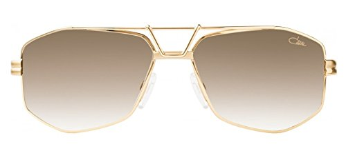 Cazal 9073 Sunglasses 001SG Gold / Brown Gradient Lens 61 - Cazal Sunglasses Gold