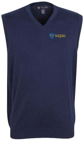 Toledo Oxfords (Oxford NCAA Toledo Rockets Men's Bristol Sweater Vest (Classic Navy, Medium))