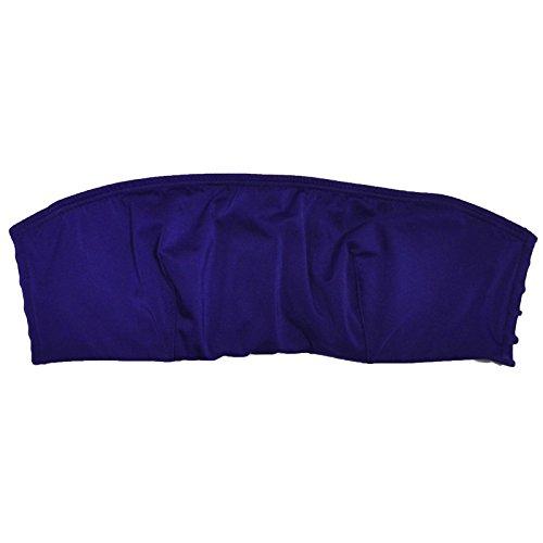 Victoria's Secret Very Sexy Strappy Flirty Unlined Bandeau Bra (36C, Purple)