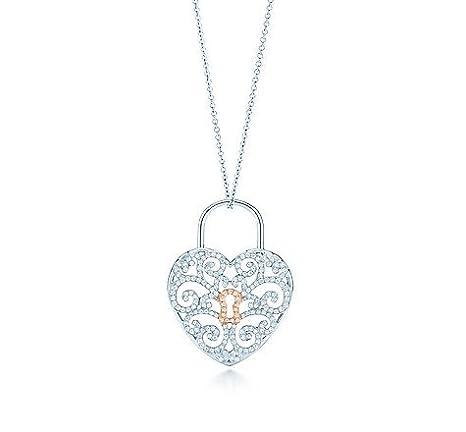Tiffany and co enchant heart lock pendant amazon cell phones tiffany and co enchant heart lock pendant aloadofball Choice Image