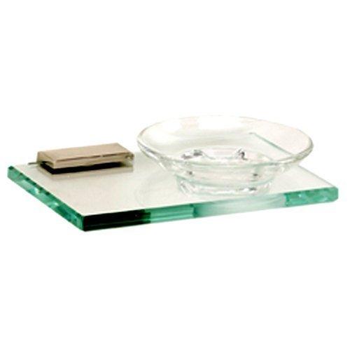 Manhattan Soap (Alno A7430-PC Manhattan Modern Soap Dish, Polished Chrome, 6-3/4