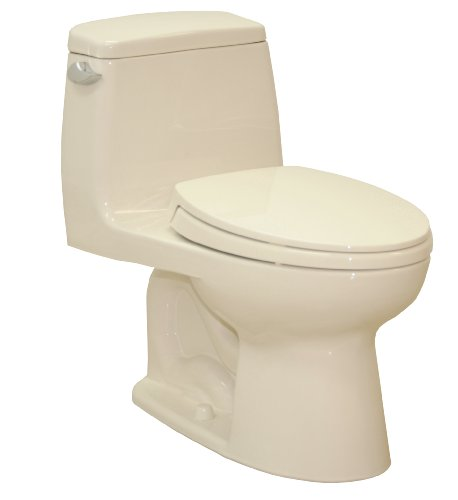 Toto MS854114E Bone Eco UltraMax Toilet, 1.28 GPF
