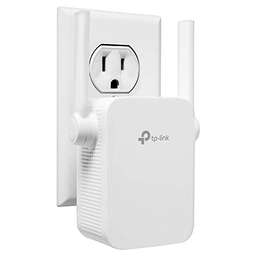TP-Link N300 WiFi Range Extender with External Antennas and Compact Design (TL-WA855RE) (Renewed)