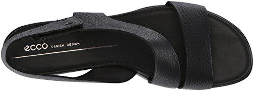 Sandali Donna Ecco 11001 Aperta Punta black Touch Nero zwq5F