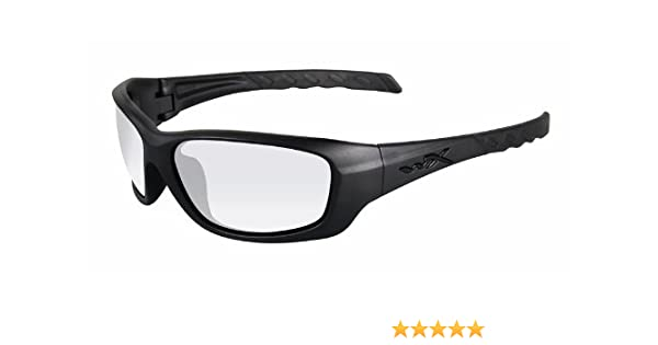 ae3b106268 Amazon.com  Wiley X WX GRAVITY Clear Lenses Matte Black Frames (CCGRA03)   Everything Else