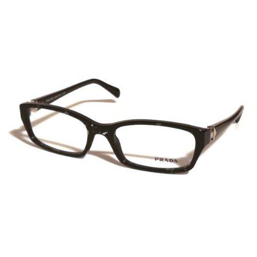 incontrare 9ee0c b40d4 Prada occhiali da vista Vpr 07 N Black acf-101 VPR07 N ...