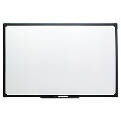 Universal 43629 Dry Erase Board, Melamine, 48 x 36, Black Frame by Universal