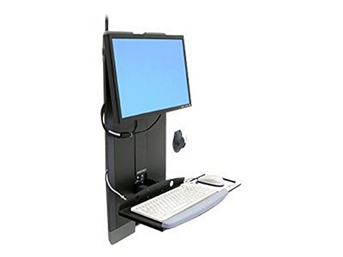 Ergotron Styleview Vertical Lift High Traffic Areas - Mounting Kit ( Hole-mount Pattern Adapter, Wrist Rest, Mouse Pouch, Panel Vertical Lift, Vesa Adapter, Keyboard Tray ) (Ergotron Mounting Adapter)