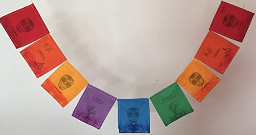 Day of the Dead (Dia de los Muertos) Prayer Flag. All proceeds to families in -