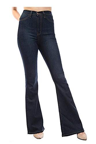 Jeans Vita Alte Marina Boot Slim Jean Le Cut Skinny Pantaloni Donne Fit EAwnqv