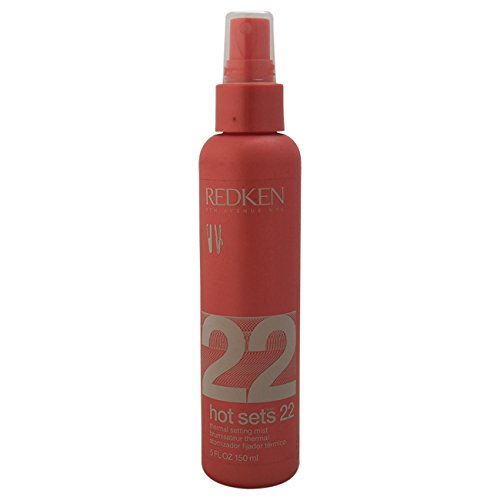Hot Sets 22 Thermal Setting Mist Unisex Mist by Redken, 5 Ou