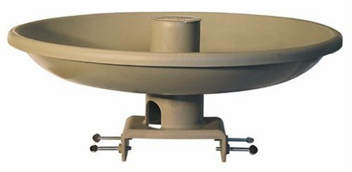 Farm Innovators Model HBI-150 All Seasons Premium Heated Birdbath with (Heated Birdbath Deck)