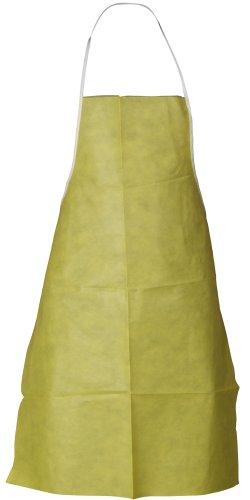 Lakeland ChemMax 1 Polyethylene/Polypropylene Serged Seam Shoe Cover, Elastic Cuff, Large/X-Large, Yellow (Case of 200 Pair) ()