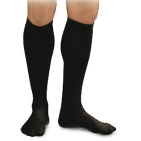 Activa Men's 20-30 mmHg Dress Socks with Firm Support, Black, X-Large ()