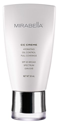 Mirabella CC Creme Hydrating, Oil Control, Full Coverage with SPF 20 - Dark (Fitz IV), 30ml