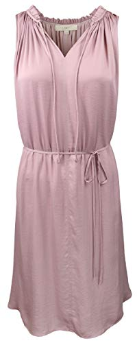 Ann Taylor LOFT - Women's - Ruffle Tie Waist Dress (Multiple (Large)
