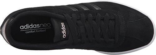 Adidas NEO Women's Courtset W Sneaker, Black/Black/Copper Metallic, 11 M US