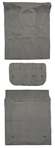2007 to 2009 GMC Yukon XL Suburban Carpet Custom Molded Replacement Kit, Complete Kit, With 2nd Row Bench Seats (8075-Medium Grey Plush Cut Pile)