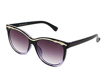 Vast UV Protection Designer Cat Eye women Sunglasses(Puple|Purple Lens).