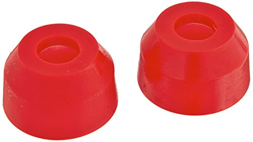 Prothane 19-1712 Red Tie Rod End Boot Kit (Tie Prothane Boots Rod)