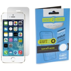 Gadget Guard Black Ice Plus Edition Tempered Glass Screen Guard For Apple IPhone 5/5S/5C/Se - Clear by Gadget Guard