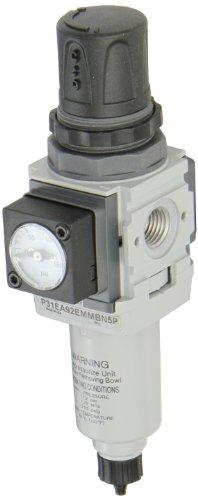 Mini Filter Regulator - Parker P31EA92EMMBN5P  One Piece Filter/Regulator, 1/4