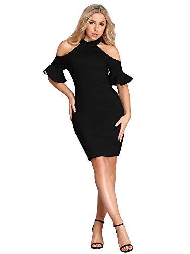 Sexy Corto Elástico Mujer Ever De Para Vestido Negro Cóctel pretty C w0EzxzYqp