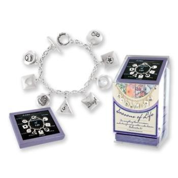 Creative Ventures Seasons of Life Charm Toggle Bracelet