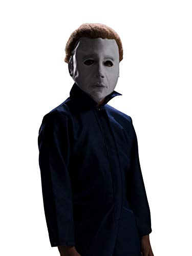 Child Halloween Michael Myers Mask with Wig]()