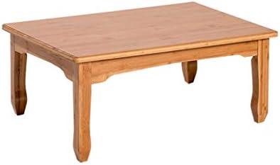 Mode-Stijl Xiaoli woonkamertafel, eenvoudige dikke bamboe, koffietafel, glad tafel, theetafel, ronde hoek, slaapkamer, bank, woonkamer, salontafel, duurzaam  ahx6DEs